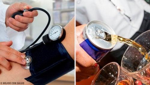 Напитките, повишаващи кръвното налягане