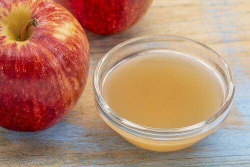 ябълков оцет срещу келоидните белези