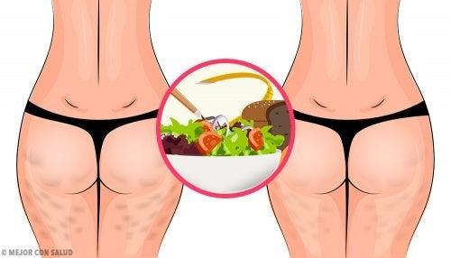 Как да се преборите с целулита, като ядете здравословна диета