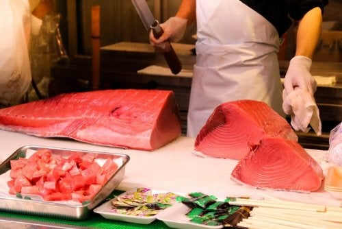 опасни риби - червена риба тон