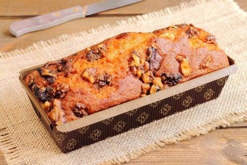 Хранителен бананов хляб без брашно и млечни продукти