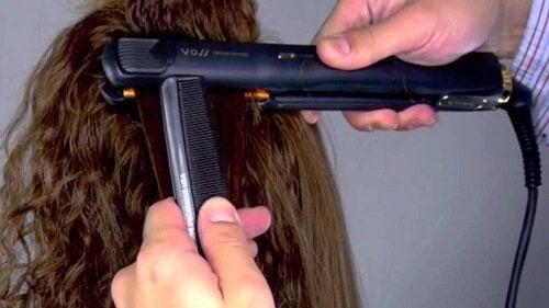 3 съвета за изправяне на косата без увреждане
