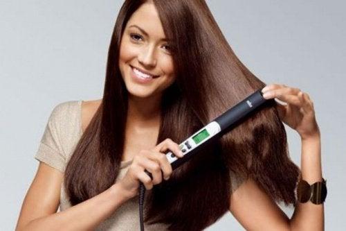 преса за изправяне на косата