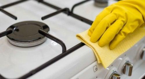 почиствайте петната на момента, за да имате чиста къща