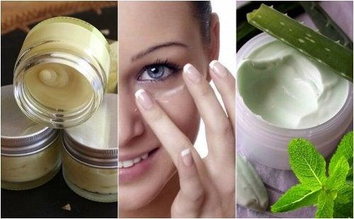 5 натурални крема за очи за здрава кожа