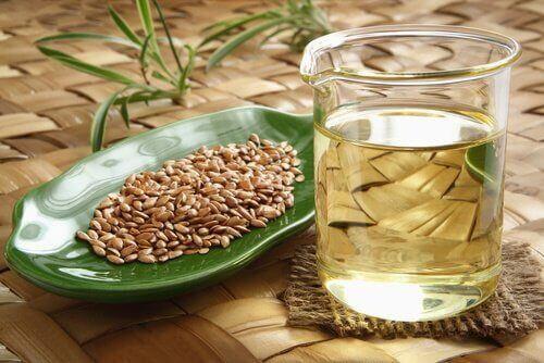 използвайте ленено семе в борбата с отпуснатата кожа