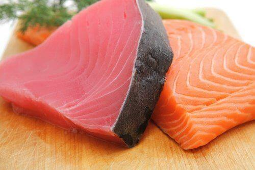 мазна риба против дегенерацията на макулата