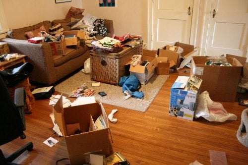 натрупаните вещи ще затруднят постигането на подреден дом