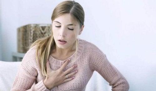 Недостиг на въздух при левкемия
