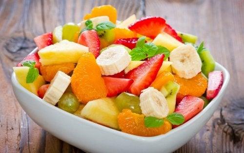 плодове за вечеря, за да отслабнете