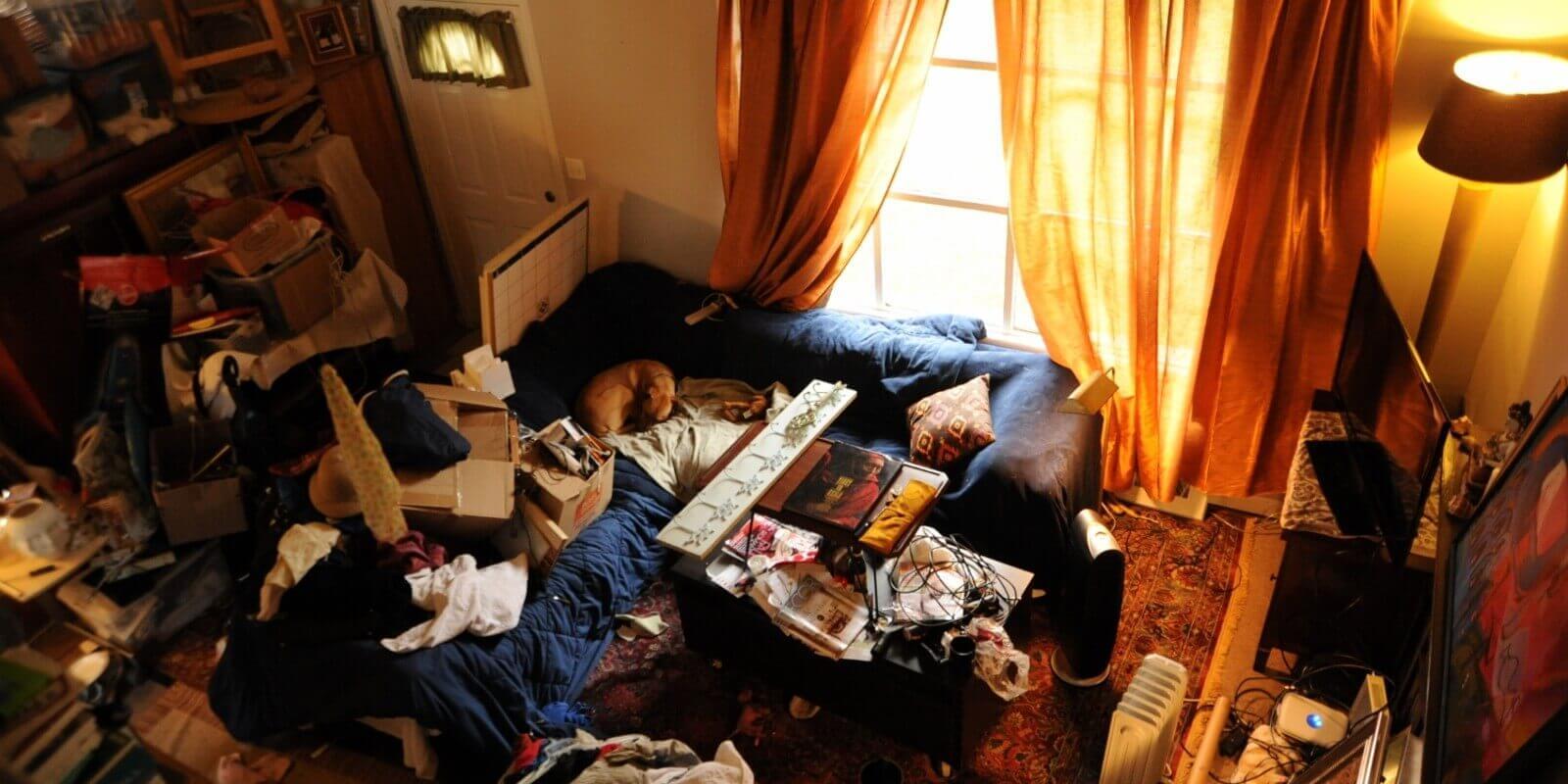 за д аимате чиста къща, не я затрупвайте с излишни предмети