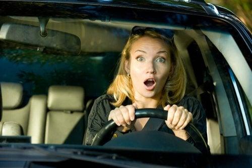 страха от шофирането