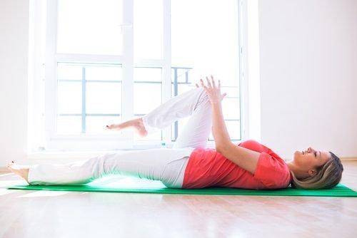 тибетски упражнения - повдигане