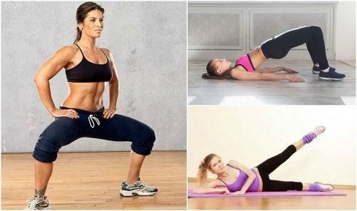 5 упражнения за бедрата, които да правите у дома