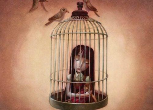 емоционално наранено дете, в капана на собствените си мисли