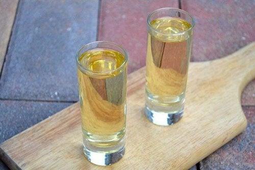 водка за отблъскване на досадните мухи