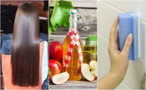 Ябълковия оцет – 5 необичайни приложения, които е добре да познавате