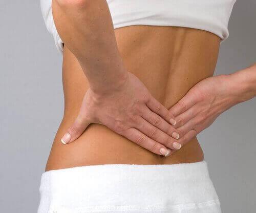 хернията и болката в долната част на гърба