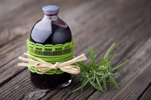 натурални средства против целулит - лосион с розмарин