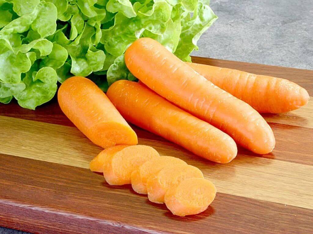 моркови срещу проблемите с гастрита