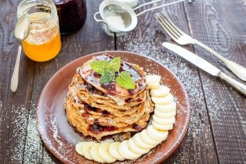 Рецепти за закуска - палачинки от банан