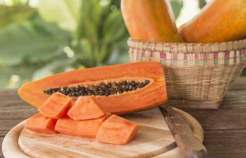 натурални средства против целулит - папая и захар