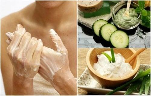 Как да намалите по естествен начин появата на старчески петна по ръцете