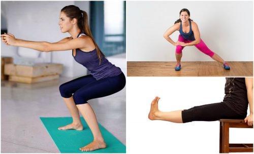 5 упражнения за крака, които можете да правите у дома