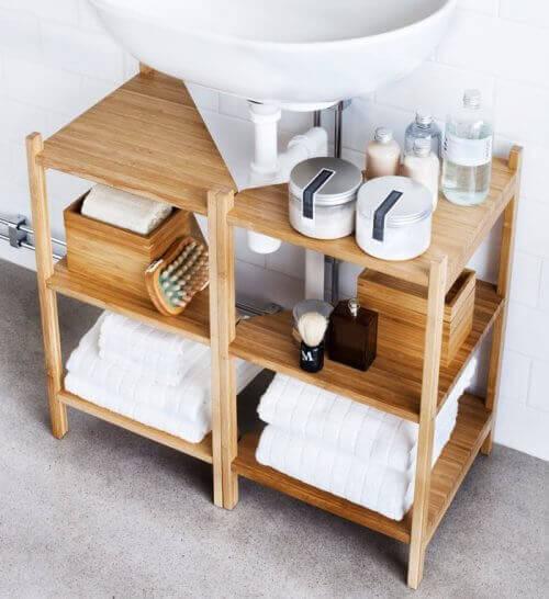 ввъзползвайте се максимално от пространството при украсяването на вашата баня