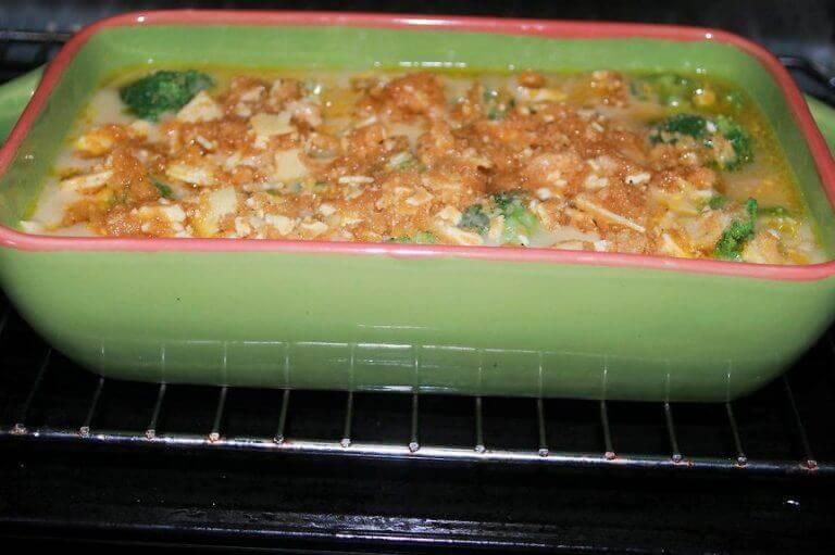 броколи с масло