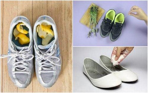 Как да премахнем миризмата на обувките с 5 домашни средства