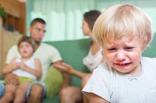 Последиците от насилието пред очите на децата