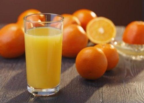 натурални антибиотици - сок от портокали