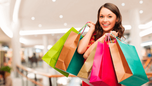 шопинг през уикенда