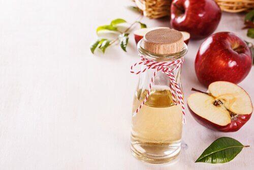 маски за лице с ябълков оцет