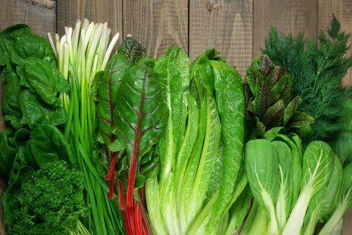 зелените листни зеленчуци са идеалната храна при стрес - те се борят с безпокойството