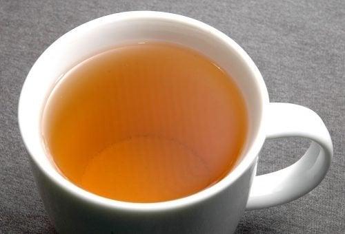 чай от бял трън при затлъстял черен дроб