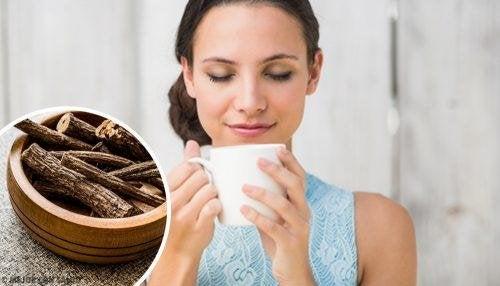 чай от женско биле при рефлукс