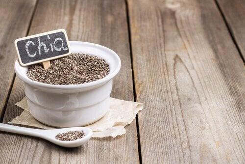 семената от чиа ще ви помогнат да се радвате на здрав чревен тракт