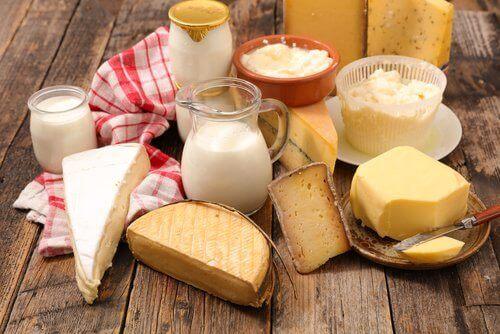 солта и млечни продукти подсилват косопада