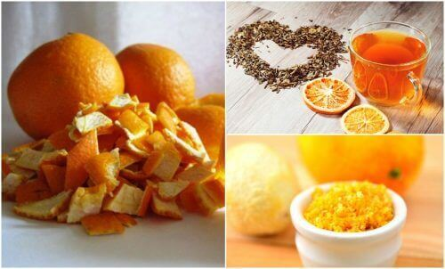 5 алтернативни употреби на портокаловите кори