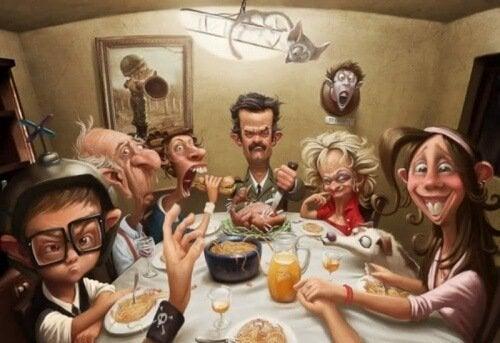 причини за появата на токсичните семейства