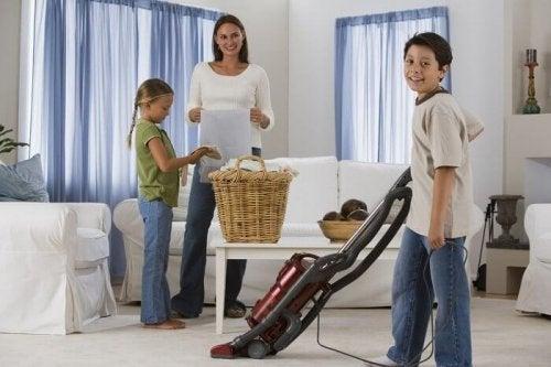 семейство и почистване