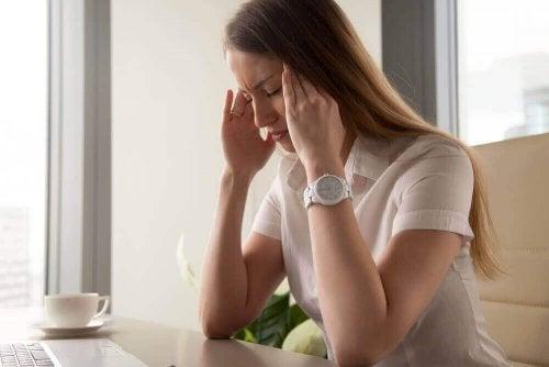Стресът ви кара да се чувствате уморени.
