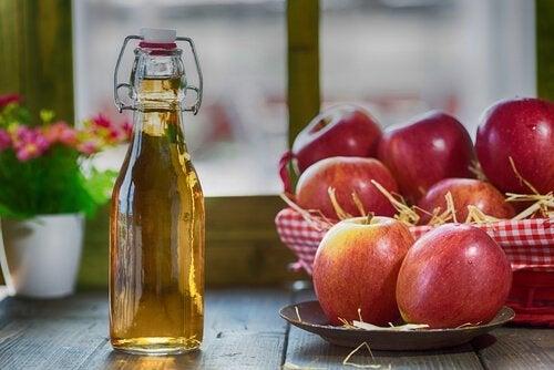 ябълков оцет против насекоми