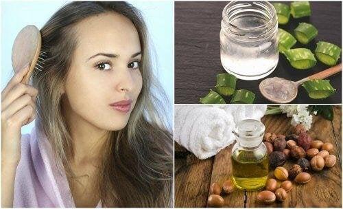 5 натурални средства за изтъняваща коса