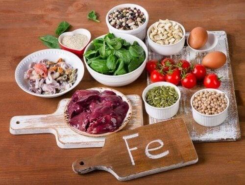 храни, богати на желязо за укрепване на имунната система