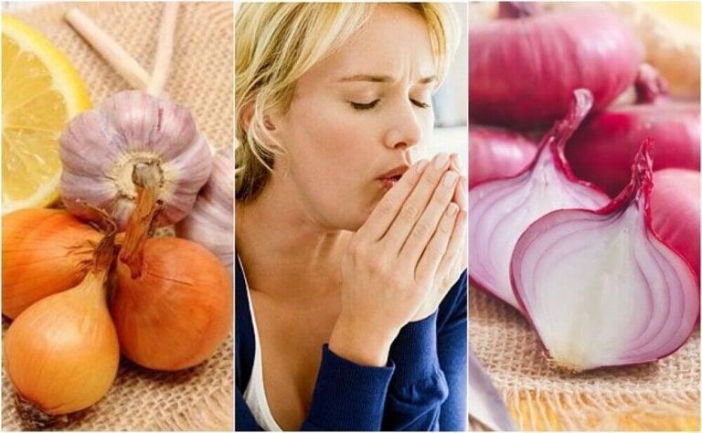 Използвайте лука в борба с кашлицата