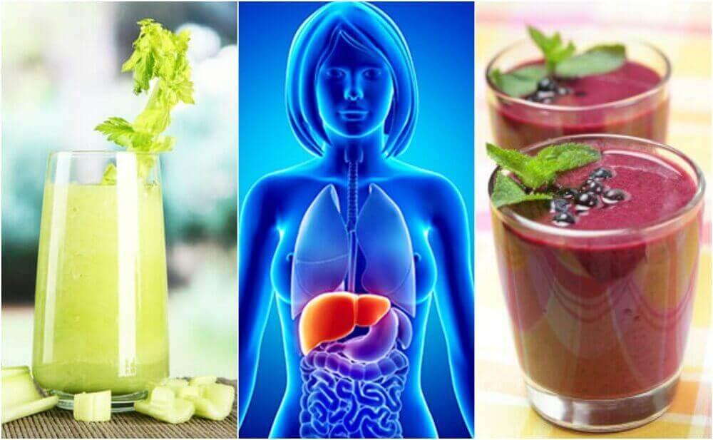 Прочистване на черния дроб с тези 4 плодови и зеленчукови смутита