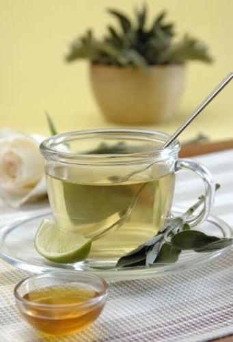 сироп от зелен чай